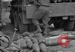 Image of United States 127th Field Artillery Regiment Saint Lo France, 1944, second 47 stock footage video 65675051314