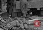 Image of United States 127th Field Artillery Regiment Saint Lo France, 1944, second 48 stock footage video 65675051314