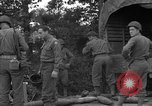Image of United States 127th Field Artillery Regiment Saint Lo France, 1944, second 50 stock footage video 65675051314