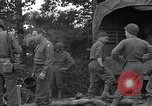 Image of United States 127th Field Artillery Regiment Saint Lo France, 1944, second 52 stock footage video 65675051314
