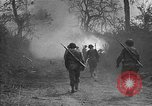 Image of road cleared of land mines using explosive charges Emelie France, 1944, second 18 stock footage video 65675051321