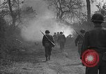 Image of road cleared of land mines using explosive charges Emelie France, 1944, second 19 stock footage video 65675051321