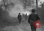 Image of road cleared of land mines using explosive charges Emelie France, 1944, second 20 stock footage video 65675051321