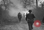 Image of road cleared of land mines using explosive charges Emelie France, 1944, second 21 stock footage video 65675051321