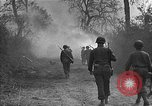 Image of road cleared of land mines using explosive charges Emelie France, 1944, second 22 stock footage video 65675051321