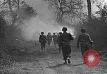 Image of road cleared of land mines using explosive charges Emelie France, 1944, second 24 stock footage video 65675051321
