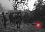 Image of road cleared of land mines using explosive charges Emelie France, 1944, second 25 stock footage video 65675051321