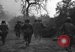 Image of road cleared of land mines using explosive charges Emelie France, 1944, second 26 stock footage video 65675051321