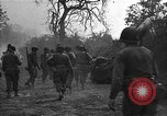 Image of road cleared of land mines using explosive charges Emelie France, 1944, second 27 stock footage video 65675051321