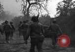 Image of road cleared of land mines using explosive charges Emelie France, 1944, second 28 stock footage video 65675051321