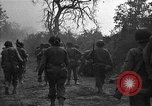 Image of road cleared of land mines using explosive charges Emelie France, 1944, second 29 stock footage video 65675051321