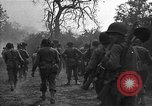 Image of road cleared of land mines using explosive charges Emelie France, 1944, second 30 stock footage video 65675051321