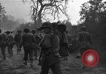 Image of road cleared of land mines using explosive charges Emelie France, 1944, second 31 stock footage video 65675051321