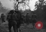 Image of road cleared of land mines using explosive charges Emelie France, 1944, second 32 stock footage video 65675051321
