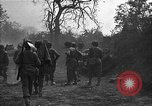 Image of road cleared of land mines using explosive charges Emelie France, 1944, second 34 stock footage video 65675051321