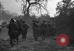 Image of road cleared of land mines using explosive charges Emelie France, 1944, second 35 stock footage video 65675051321