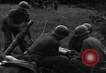 Image of United States 87th Chemical Mortar Battalion Carentan France, 1944, second 40 stock footage video 65675051324
