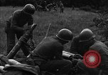 Image of United States 87th Chemical Mortar Battalion Carentan France, 1944, second 41 stock footage video 65675051324