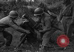 Image of United States 87th Chemical Mortar Battalion Carentan France, 1944, second 26 stock footage video 65675051325