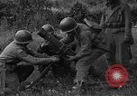 Image of United States 87th Chemical Mortar Battalion Carentan France, 1944, second 27 stock footage video 65675051325