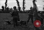 Image of United States 87th Chemical Mortar Battalion Carentan France, 1944, second 18 stock footage video 65675051326