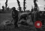 Image of United States 87th Chemical Mortar Battalion Carentan France, 1944, second 19 stock footage video 65675051326