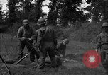 Image of United States 87th Chemical Mortar Battalion Carentan France, 1944, second 28 stock footage video 65675051326