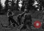 Image of United States 87th Chemical Mortar Battalion Carentan France, 1944, second 29 stock footage video 65675051326
