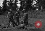 Image of United States 87th Chemical Mortar Battalion Carentan France, 1944, second 33 stock footage video 65675051326