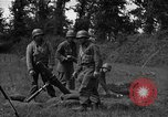 Image of United States 87th Chemical Mortar Battalion Carentan France, 1944, second 34 stock footage video 65675051326