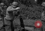 Image of United States 87th Chemical Mortar Battalion Carentan France, 1944, second 40 stock footage video 65675051326