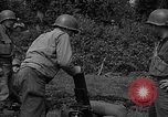 Image of United States 87th Chemical Mortar Battalion Carentan France, 1944, second 41 stock footage video 65675051326