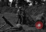 Image of United States 87th Chemical Mortar Battalion Carentan France, 1944, second 45 stock footage video 65675051326