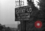 Image of United States 35th Infantry Division Saint Lo France, 1944, second 28 stock footage video 65675051329
