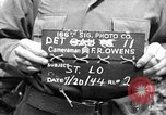 Image of United States 35th Infantry Division Saint Lo France, 1944, second 1 stock footage video 65675051332