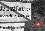Image of United States 35th Infantry Division Saint Lo France, 1944, second 9 stock footage video 65675051333