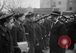 Image of French Naval officer Philadelphia Pennsylvania USA, 1951, second 14 stock footage video 65675051348