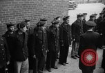 Image of French Naval officer Philadelphia Pennsylvania USA, 1951, second 25 stock footage video 65675051348