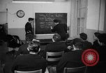 Image of French Naval officer Philadelphia Pennsylvania USA, 1951, second 38 stock footage video 65675051348