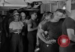 Image of United States Navy sailors enjoy ice cream Pacific Ocean, 1954, second 6 stock footage video 65675051350