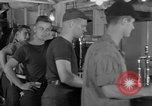 Image of United States Navy sailors enjoy ice cream Pacific Ocean, 1954, second 9 stock footage video 65675051350
