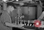 Image of United States Navy sailors enjoy ice cream Pacific Ocean, 1954, second 19 stock footage video 65675051350