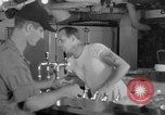 Image of United States Navy sailors enjoy ice cream Pacific Ocean, 1954, second 24 stock footage video 65675051350