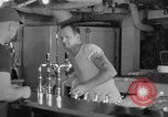 Image of United States Navy sailors enjoy ice cream Pacific Ocean, 1954, second 27 stock footage video 65675051350