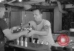 Image of United States Navy sailors enjoy ice cream Pacific Ocean, 1954, second 28 stock footage video 65675051350