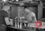 Image of United States Navy sailors enjoy ice cream Pacific Ocean, 1954, second 29 stock footage video 65675051350