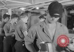 Image of United States Navy sailors enjoy ice cream Pacific Ocean, 1954, second 54 stock footage video 65675051350