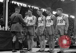 Image of American athletes Joinville Le Pont France, 1919, second 51 stock footage video 65675051377