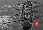 Image of shell boat crew Wellesley Massachusetts USA, 1936, second 24 stock footage video 65675051380