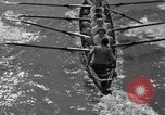 Image of shell boat crew Wellesley Massachusetts USA, 1936, second 26 stock footage video 65675051380